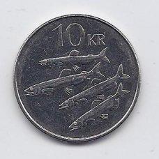 ISLANDIJA 10 KRONUR 2008 KM # 29.1a XF