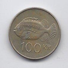 ISLANDIJA 100 KRONUR 2006 KM # 35 VF