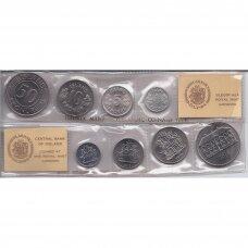 ISLANDIJA 1978 m. 4 monetų rinkinys