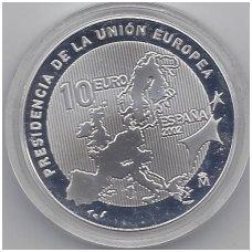 ISPANIJA 10 EURO 2002 KM # 1048 UNC