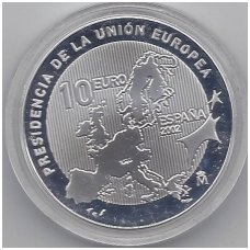SPAIN 10 EURO 2002 KM # 1048 UNC