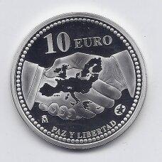 ISPANIJA 10 EURO 2005 KM # 1065 PROOF