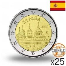 ISPANIJA 2 EURAI 2013 MADRIDAS RITINĖLIS (25 vnt.)