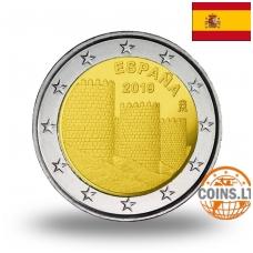 SPAIN 2 EURO 2019 AVILA