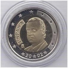 ISPANIJA 2 EURO 2002 KM # 1047 PROOF