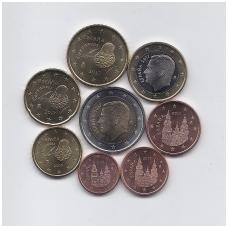 ISPANIJA 2017 m. pilnas euro komplektas