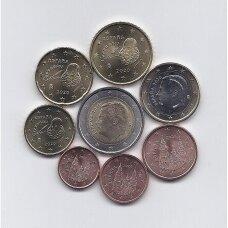 ISPANIJA 2020 m. pilnas euro monetų rinkinys
