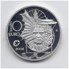ITALIJA 10 EURO 2006 KM # 285 PROOF