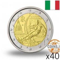 ITALIJA 2 EURAI 2006 TURINO OLIMPIADA RITINĖLIS ( 40 vnt.)