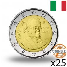 ITALIJA 2 EURAI 2010 CAMILLO BENSO RITINĖLIS ( 25 vnt.)