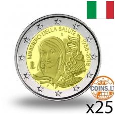ITALIJA 2 EURAI 2018 SVEIKATOS MINISTERIJA RITINĖLIS (25 vnt.)