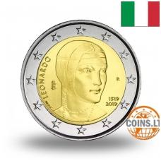 ITALIJA 2 EURAI 2019 LEONARDAS DA VINČIS
