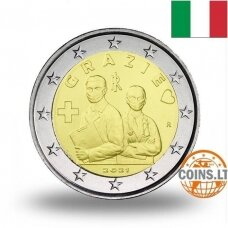 ITALIJA 2 EURAI 2021 GRAZIE (AČIŪ)