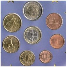 ITALY 2002 OFFICIAL EURO COIN SET