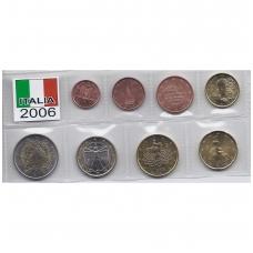 ITALIJA 2006 m. pilnas euro komplektas