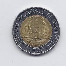 ITALIJA 500 LIRE 1996 KM # 181 XF