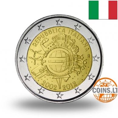 ITALIJA 2 EURAI 2012 10M. EURUI