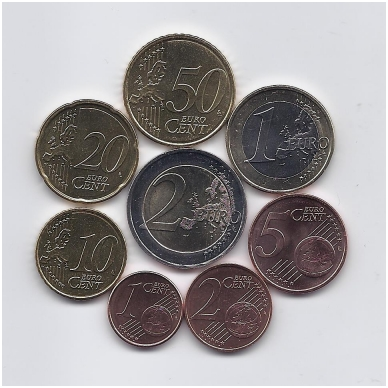 ITALIJA 2010 m. euro monetų komplektas 2