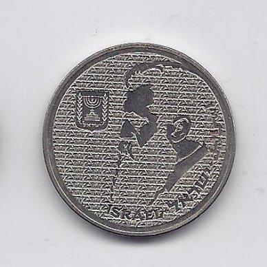 IZREALIS 10 SHEQALIM 1984 KM # 137 AU T. HERZL 2