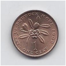 JAMAIKA 1 CENT 1974 KM # 52 UNC