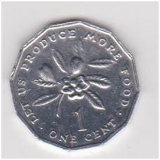 JAMAIKA 1 CENT 1996 KM # 64 AU F.A.O.