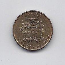 JAMAIKA 1 DOLLAR 1993 KM # 145a XF