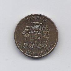 JAMAIKA 1 DOLLAR 1994 KM # 145a XF