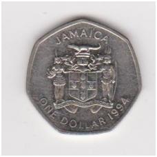JAMAIKA 1 DOLLAR 1994 KM # 164 VF-XF