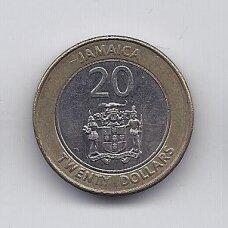 JAMAIKA 20 DOLLARS 2006 KM # 182 XF