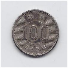 JAPONIJA 100 YEN 1960 Y # 78 VF
