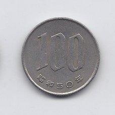 JAPONIJA 100 YEN 1975 Y # 82 VF