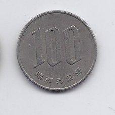 JAPONIJA 100 YEN 1977 Y # 82 VF