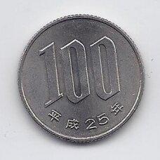 JAPONIJA 100 YEN 2013 Y # 98.2 VF