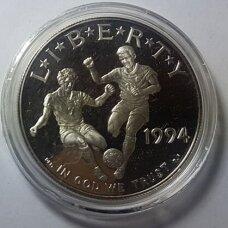 JAV 1 DOLLAR 1994 KM # 247 PROOF PASAULIO TAURĖ