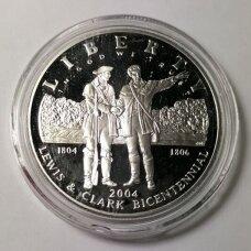 JAV 1 DOLLAR 2004 KM # 363 PROOF Leviso ir Klarko ekspedicija