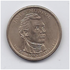 JAV 1 DOLLAR 2008 P KM # 426 UNC JAMES MONROE