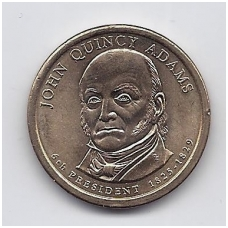 JAV 1 DOLLAR 2008 P KM # 427 UNC JOHN QUINCY ADAMS