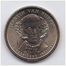 JAV 1 DOLLAR 2008 P KM # 429 UNC MARTIN VAN BUREN