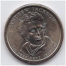 JAV 1 DOLLAR 2008 P KM # 428 UNC DŽEKSONAS