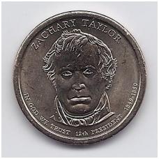 JAV 1 DOLLAR 2009 P KM # 453 UNC ZACHARY TAYLOR