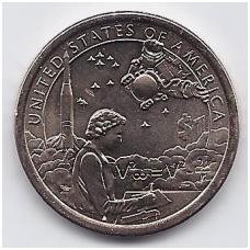 JAV 1 DOLLAR 2019 D KM # new UNC Indėnai kosmoso programoje