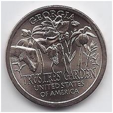 JAV 1 DOLLAR 2019 P KM # new UNC Džordžija