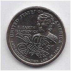 JAV 1 DOLLAR 2020 P KM # new UNC ELŽBIETA PERATROVIČ