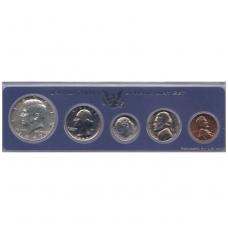 JAV 1967 m. 5 MONETŲ RINKINYS ( Special Mint Set )