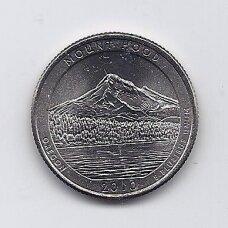 JAV 25 CENTS 2010 P KM # 473 UNC Hudo kalnas