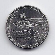 JAV 5 CENTS 2005 D KM # 369 UNC