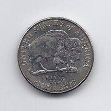 JAV 5 CENTS 2005 P KM # 368 UNC