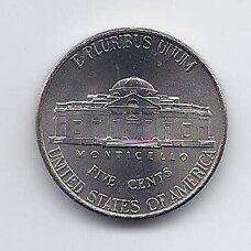 JAV 5 CENTS 2006 P KM # 381 UNC