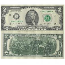 JAV ( AMERIKOS ) 2 DOLERIAI 2013 P # new UNC
