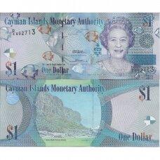 KAIMANŲ SALOS 1 DOLLAR 2010 (2014) P # 38c UNC